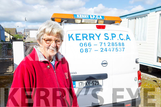 Margaret Cahill from Tralee, who is a 40 year member and volunteer at the KSPCA centre.