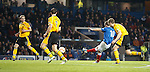David Templerton curls in his second and Rangers third goal