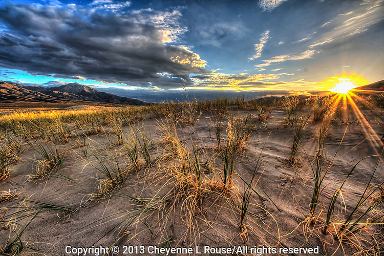 Kelso Dunes Sunset - Mojave National Preserve - CA