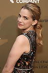 Anna Chlumsky attends the Roundabout Theatre Company's 2019 Gala honoring John Lithgow at the Ziegfeld Ballroom on February 25, 2019 in New York City.