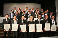 Absolventen des 62. Fußball-Lehrer-Jahrgangs - DFB Trainergala 2016, Palais Frankfurt