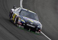 Feb 22, 2009; Fontana, CA, USA; NASCAR Sprint Cup Series driver Jeremy Mayfield during the Auto Club 500 at Auto Club Speedway. Mandatory Credit: Mark J. Rebilas-