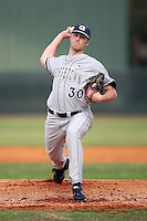 February 22, 2009:  Pitcher Tim Adleman (30) of Georgetown University  during the Big East-Big Ten Challenge at Naimoli Complex in St. Petersburg, FL.  Photo by:  Mike Janes/Four Seam Images