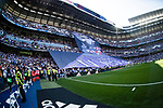 Santiago Bernabeu Stadium is seen prior to the La Liga match Real Madrid and Atletico de Madrid on 08 April 2017 in Madrid, Spain. Photo by Diego Gonzalez Souto / Power Sport Images