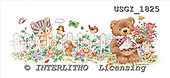 GIORDANO, CUTE ANIMALS, LUSTIGE TIERE, ANIMALITOS DIVERTIDOS, Teddies, paintings+++++,USGI1825,#AC# teddy bears