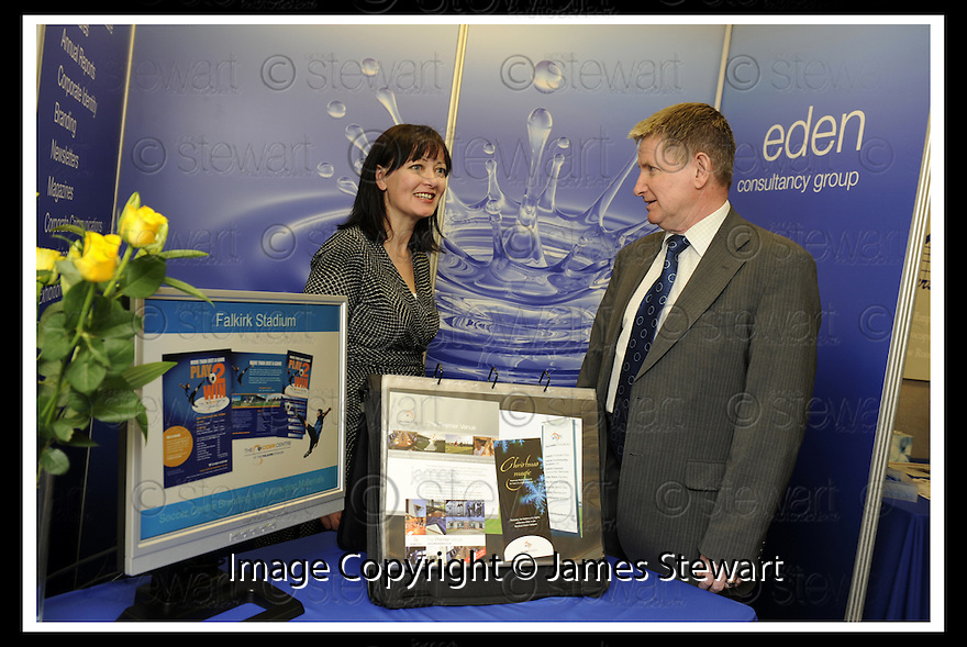 30/04/2008   Copyright Pic: James Stewart.File Name : 01_business_fair.FALKIRK BUSINESS FAIR 2008.EDEN CONSULTANCY GROUP.James Stewart Photo Agency 19 Carronlea Drive, Falkirk. FK2 8DN      Vat Reg No. 607 6932 25.Studio      : +44 (0)1324 611191 .Mobile      : +44 (0)7721 416997.E-mail  :  jim@jspa.co.uk.If you require further information then contact Jim Stewart on any of the numbers above........