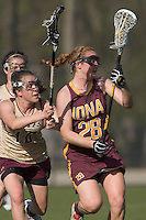 Boston College vs Iona College April 07 2010