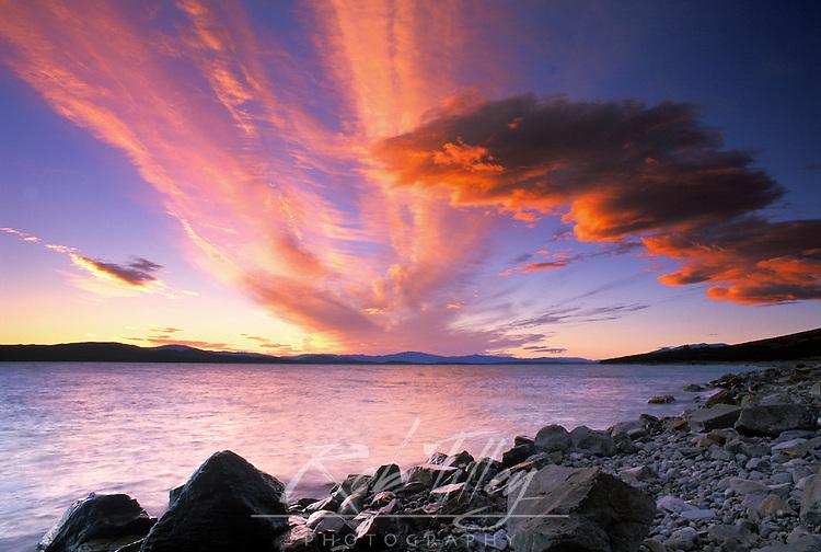 Lake Pukaki Dawn, South Island, New Zealand