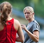 15.06.2011, Steinbergstadion, Leogang, AUT, FIFA WOMENS WORLDCUP 2011, PREPERATION, USA, im Bild Fitness Coach während eines Trainings zur Vorbereitung auf die FIFA Damen Fussball Weltmeisterschaft 2011 in Deutschland // during a Trainingssession for the FIFA Women´s Worldcup 2011 in Germany, on 2011/06/15, Steinberg Stadium, Leogang, Austria, EXPA Pictures © 2011, PhotoCredit: EXPA/ J. Feichter