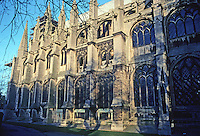 Ely: Ely Cathedral--Exterior, Choir. Photo '90.