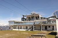 Station der Rosshütte Bergbahnen - Seefeld 26.05.2021: Trainingslager der Deutschen Nationalmannschaft zur EM-Vorbereitung