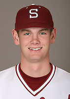 STANFORD, CA - JANUARY 7:  A.J. Talt of the Stanford Cardinal baseball team poses for a headshot on January 7, 2009 in Stanford, California.