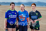 The Casey family from Aunascaul ready for the 5k run on Inch Beach on Sunday, l to r: Sarah Casey, Theresa O'Brien Casey and Mary Casey.