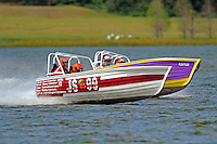 """Dave Greenlaw, Jr., JS-99 """"Veri Cheri Too"""" and Mike Buturla, JS-712    (Jersey Speed Skiff(s)"""