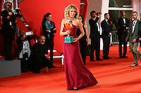 Valeria Golino attends the red carpet for the Winners of the 72nd Venice Film Festival at the Palazzo Del Cinema in Venice, Italy September 12, 2015.<br /> UPDATE IMAGES PRESS/Stephen Richie