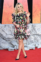 """Tallia Storm<br /> arriving for the """"Rampage"""" premiere at the Cineworld Empire Leicester Square, London<br /> <br /> ©Ash Knotek  D3395  11/04/2018"""