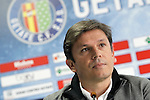 Getafe's General Manager Toni Munoz. April 13, 2016. (ALTERPHOTOS/Acero)