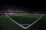 FC Barcelona's stadium Camp Nou after Spanish Kings Cup semifinal 2nd leg match FC Barcelona v Atletico de Madrid. February 07,2017. (ALTERPHOTOS/Acero)