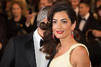 Amal Clooney - CANNES 2016 - DESCENTE DES MARCHES DU FILM 'MONEY MONSTER