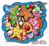 Liz,CHRISTMAS SYMBOLS, WEIHNACHTEN SYMBOLE, NAVIDAD SÍMBOLOS, LizDillon, paintings+++++,USHCLD0350,#XX#