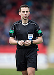 St Johnstone v Dundee…11.03.17     SPFL    McDiarmid Park<br />Referee Andrew Dallas<br />Picture by Graeme Hart.<br />Copyright Perthshire Picture Agency<br />Tel: 01738 623350  Mobile: 07990 594431