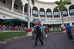 March 29, 2014: Fun and excitement builds amidst the tropical flair of South Florida on Florida Derby day at Gulfstream Park in Hallandale Beach (FL). Arron Haggart/ESW/CSM