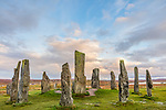 Isle of Lewis and Harris, Scotland: Sunset skies at the Callanish Standing Stones