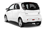 Car pictures of rear three quarter view of 2017 Mitsubishi iMiEV 5 Door Micro Car Angular Rear