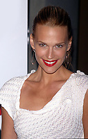 MOLLY SIMMS 12/19/2002<br /> CONFESSIONS OF A DANGEROUS MIND PREMIERE AT THE PARIS THEATRE, NEW YORK CITY<br /> Photo By John Barrett/PHOTOlink