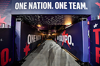 ORLANDO, FL - NOVEMBER 15: USMNT One Nation One Team tunnel during a game between Canada and USMNT at Exploria Stadium on November 15, 2019 in Orlando, Florida.