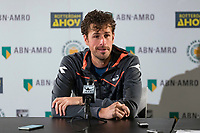 Rotterdam, The Netherlands,  16 Februari, 2018, Ahoy, Tennis, ABNAMRO World Tennis Tournament, Robin Haase (NED)<br /> Photo: www.tennisimages.com