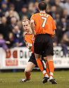 05/02/2005  Copyright Pic : James Stewart.File Name : jspa08_qots_v_dundee_utd.STUART DUFF CELEBRATES THE THIRD....Payments to :.James Stewart Photo Agency 19 Carronlea Drive, Falkirk. FK2 8DN      Vat Reg No. 607 6932 25.Office     : +44 (0)1324 570906     .Mobile   : +44 (0)7721 416997.Fax         : +44 (0)1324 570906.E-mail  :  jim@jspa.co.uk.If you require further information then contact Jim Stewart on any of the numbers above.........A