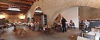 """33 Gironde/Bordeaux: """"Le café du musée"""" restaurant de l'entrepot Laine musée d'art contemporain"""
