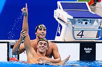 DETTI Gabriele ITA Bronze Medal, PALTRINIERI Gregorio Gold  Medal 1500m Freestyle Men <br /> Rio de Janeiro 13-08-2016 Olympic Aquatics Stadium <br /> Swimming Nuoto <br /> Foto Andrea Staccioli/Deepbluemedia/Insidefoto