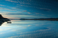 The River Tay and Newburgh at dusk, Fife