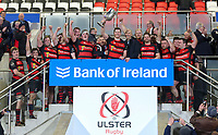 Friday 6th March 2020 | Armagh RFC vs Ballynahinch RFC<br /> <br /> City of Armagh RFC captain Robert Whitten celebrate winning the Bank Of Ireland Ulster Senior Cup after his side defeated Ballynahinch RFC in the Bank Of Ireland Ulster Senior Cup Final at Kingspan Stadium, Ravenhill Park, Belfast, Northern Ireland. Photo by John Dickson / DICKSONDIGITAL