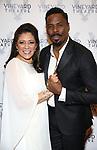 Colman Domingo and Iliana Guibert attends the Vineyard Theatre Gala honoring Colman Domingo at the Edison Ballroom on May 06, 2019 in New York City.