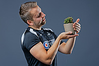 Pictured: Adam Stepien. Thursday 29 August 2018<br />Re: Swansea City FC player and staff profile photo-shoot at Fairwood Training Ground, Wales, UK