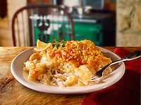 British Food - Cumberland fish  potato pie