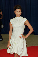 WASHINGTON, DC - APRIL 28: Eva Longoria attends the 2012 White House Correspondents Dinner at the Washington Hilton Hotel in Washington, D.C  on April 28, 2012  ( Photo by Chaz Niell/Media Punch Inc.)