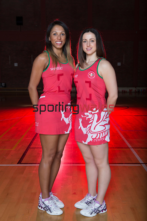 Wales Netball Squad 2014<br /> <br /> ©Steve Pope-SPORTINGWALES