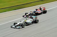 German Nico Rosberg on Mercedes GP W02.24/03/2012 Grand Prix Malesia, Sepang , Essais..Foto Insidefoto  /Bernard Asset / Panoramic.ITALY ONLY..