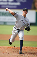 April 15, 2009:  Pitcher Ryan Zink of the Tampa Yankees, Florida State League Class-A affiliate of the New York Yankees, during a game at Space Coast Stadium in Viera, FL.  Photo by:  Mike Janes/Four Seam Images