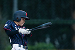 #22 Kanako Endo of Japan bats during the BFA Women's Baseball Asian Cup match between Pakistan and Japan at Sai Tso Wan Recreation Ground on September 4, 2017 in Hong Kong. Photo by Marcio Rodrigo Machado / Power Sport Images