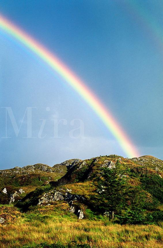 Double rainbow, County Clare, Ireland