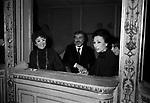 LINA WERTMULLER, ENRICO JOB E FLORA CLARABELLA<br /> TEATRO VALLE ROMA 1977
