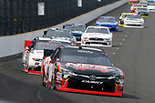 NASCAR XFINITY Series<br /> Lilly Diabetes 250<br /> Indianapolis Motor Speedway, Indianapolis, IN USA<br /> Saturday 22 July 2017<br /> Kyle Busch, NOS Energy Drink Rowdy Toyota Camry and Joey Logano, Discount Tire Ford Mustang<br /> World Copyright: Russell LaBounty<br /> LAT Images