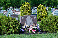 Catholic cemetery, USA