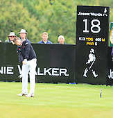 Robert-Jan Derksen (NED) during the second round of the 2012 Johnnie Walker Championships which are being played over the PGA Centenary Course at Gleneagles from 23rd to 26thh August 2012: Picture Stuart Adams www.golftourimages.com: 24th August 2012
