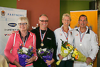 August 24, 2014, Netherlands, Amstelveen, De Kegel, National Veterans Championships, <br /> Photo: Tennisimages/Henk Koster